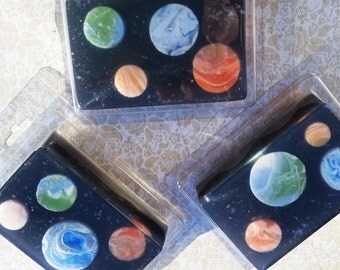Space and planet soap