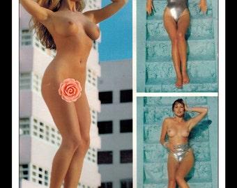"Mature Celebrity Nude Supermodel : Natalie McCullough Single Page Photo Wall Art Decor 8.5"" x 11"""