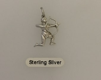 Sterling Silver Archer Charm
