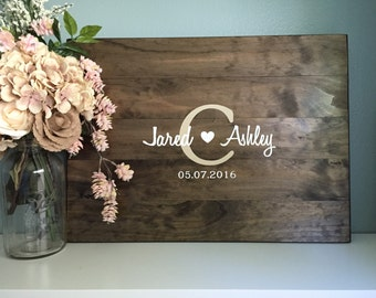 Wedding Guest Books | Etsy