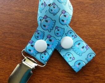 Cute Octopus Pacifier Clip
