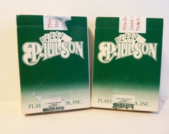 Las Vegas, Fabulous Casino, Playing Cards by: Paulson, 2 decks for 1 price