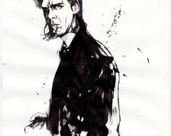 Nick Cave A3 prints