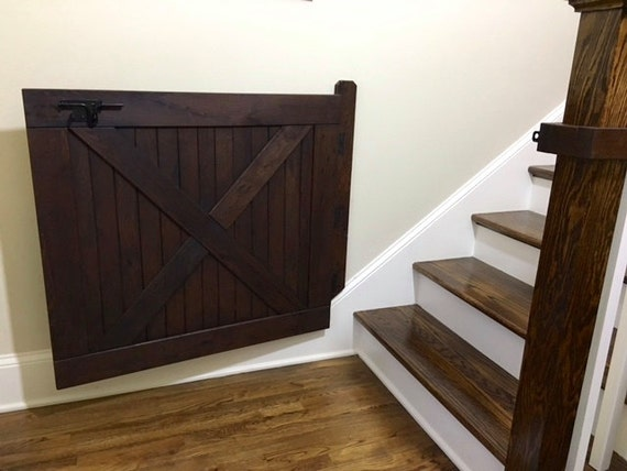 Barn Door Baby Gate Pet Gate Stair Gate Made With