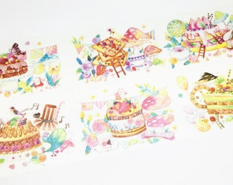 Dessert party washi tape (T00648)