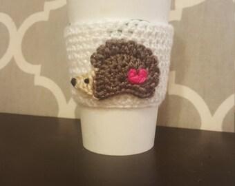 Hedgehog Coffee Cozy