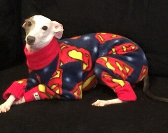 Limited Super Dog cozy polar fleece jammies