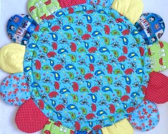 Babies Playmat, Birds - Tummy Time Mat - Travel Mat