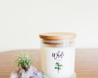 Pure Soy Candle Reiki Charged Whole Intention for Ritual