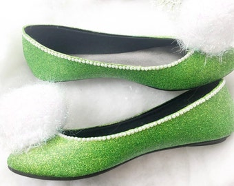 Tinkerbell Shoes- Adult/Child