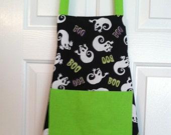 Boy's Boo apron age 6 - 8 yrs