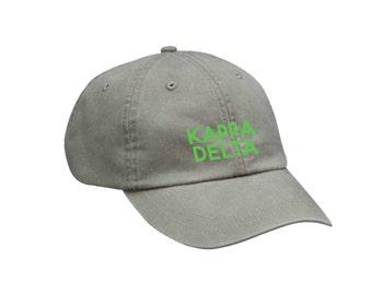 KD Kappa Delta Simple Hat Choose Your Colors Sorority Hat
