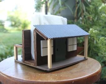 Wooden Napkin holder, Rustic