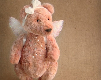 Teddy Bear BERRY.Teddy bear.Vintag teddy.Bear teddy.Old teddy bear. OOAK