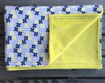 Baby Blanket, Minky Baby Blanket, Flannel blanket, Receiving Blanket, Baby Shower Gift, Baby Boy Blanket