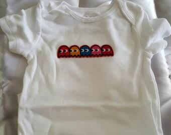 Pacman Onesie Size 6-12 months