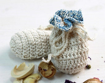 saquito de crochet saco de ganchillo para detalles detalles de boda hecho a