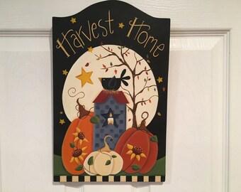 Harvest Home Plaque