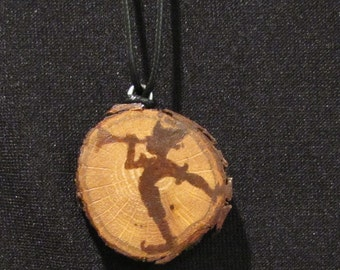 Elf Wood Slice Necklace 8