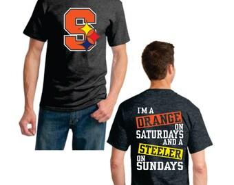 Orange on Saturday Steeler on Sunday - Full Color