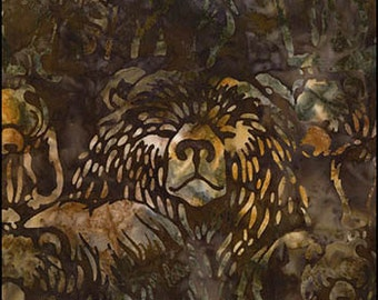 Artisan Batik - BROWN BEAR ab-15553-169 earth