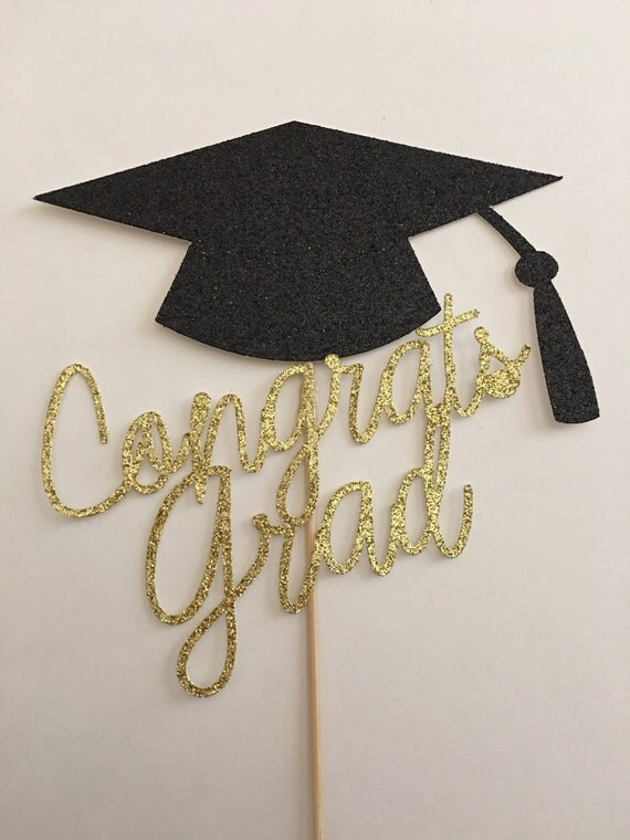 Diy Graduation Cake Toppers
