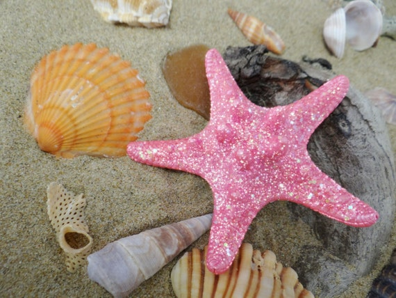 Hairclip I'm Really A MERMAID Starfish Star Fish Hair Clip Pin Hairpin Accessory Barrette Slide Comb Im Ariel Beach Shell The Little H019