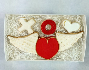 Flying Heart Cookie Set