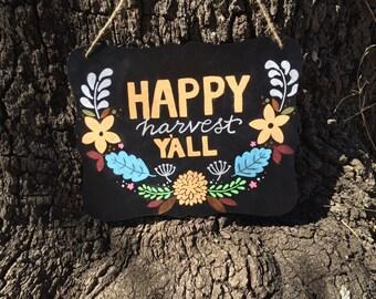 Fall Chalkboard Sign