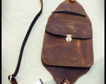 Holster carrying case leather