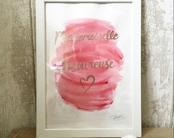 Miss love + frame