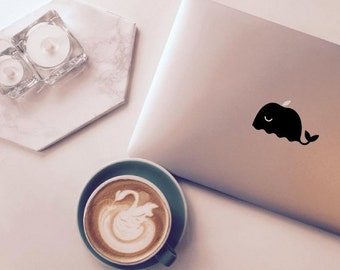 Whale MacBook decal for Apple MacBook Pro & Air Macbook sticker laptop stickers