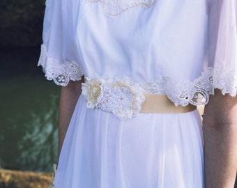 Ivory Dress Sash