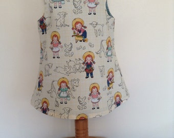 Riley Blake pinafore