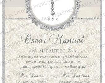 Baptism Invitation, Baptism Invitation, Invitation, Handmade Baby Baptism Invitation, Baby Shower Invitation