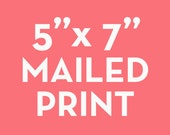 """5x7 Print - Get your printable art mailed to you from The Crown Prints! High quality 5""""x7"""" print shipped to your home"""