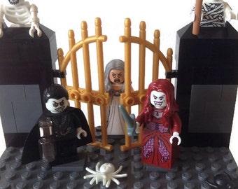 Lego Star Wars Wedding Cake Topper Han Solo Princess Leia