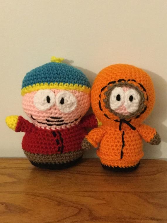 Amigurumi Cartman : SALECrochet Amigurumi South Park Inspired by ...