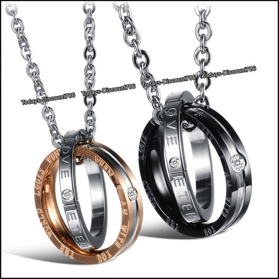 promise rings necklaces eternal engraved by