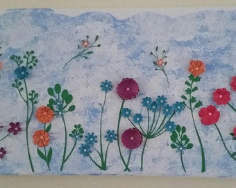 Wall Art - Display of Wildflowers