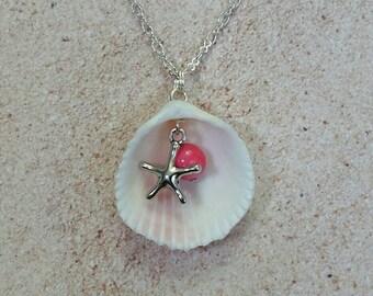 Florida Sea Shell Beach Necklace
