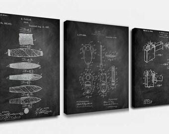 Cigar Set Canvas Art,Patent Print Poster,Patent Print Art,Home Decor,Patent Wall Art,Vintage Art,Vintage Patent Set [PPES0022-C]