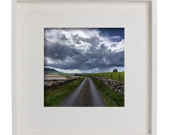 Framed photographs of Ireland, 50 x 50cm