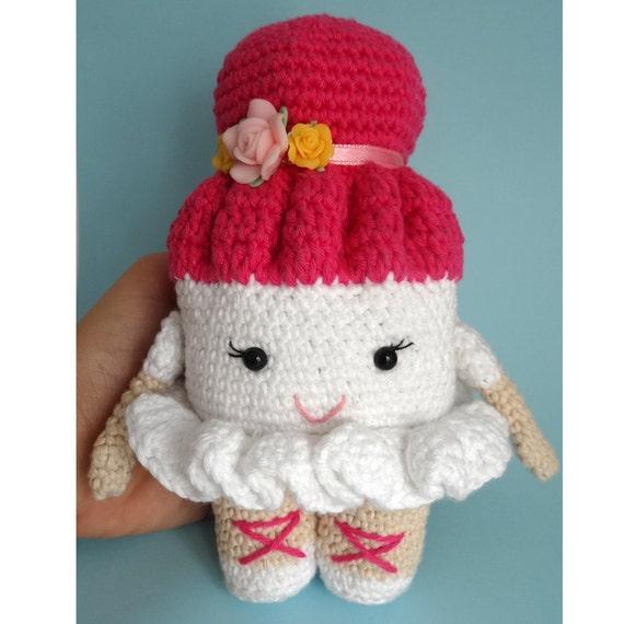 Amigurumi Ballerina Doll : Crochet doll pattern, crochet doll pattern, ballerina doll ...
