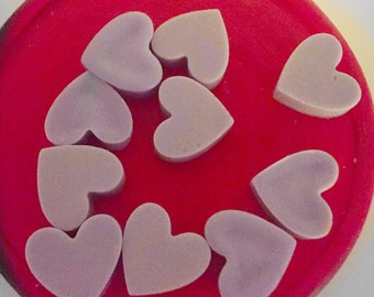 Heart wax melts fresh strawberries scented
