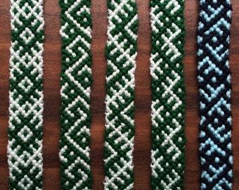 Friendship Custom Colored Thread Bracelet.Braided.Wrap.Woven gift.FriendshipJewelry.Aztec.Native.Dartmouth Best Friend.Wrist.Guy.Girl.Unisx.