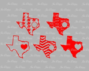 single states svg, chevron state svg, outlines states svg, states baseball files, football svg, Cricut Silhouette cut file svg cutting files