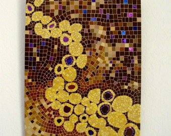 "Mosaic table ""ETERNITY"" / Mosaic frame ""ETERNITY"" - 40 cm x 30 cm"
