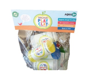 Organic Play Clay 8-Pack