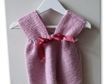 SLINKY l BABY Pink Knit Dress